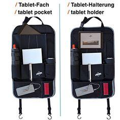 Protector de asiento negro - Ideal como un organizador de asientos para viajes ejecutivos o como protector trasero de asiento para niños - Con un bolsillo para un iPad/ Tablet - Apropiado para todos los modelos de autos - Hecho por Globeproof - http://comprarparaguas.com/baratos/de-perro/protector-de-asiento-negro-ideal-como-un-organizador-de-asientos-para-viajes-ejecutivos-o-como-protector-trasero-de-asiento-para-ninos-con-un-bolsillo-para-un-ipad-tablet-apropiado-para-todo