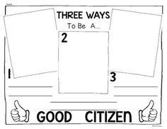 good citizen responsibilities cut and paste activity citizenship citizenship classroom and. Black Bedroom Furniture Sets. Home Design Ideas