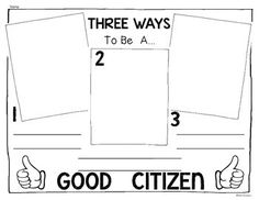 Worksheet Good Citizenship Worksheets kindergarten student centered resources and good citizen on pinterest