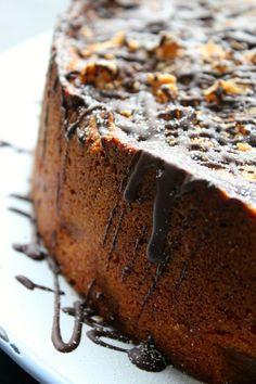 Warm: Pear and Cardamom Cake