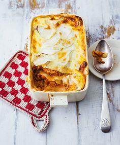 Lasagne mit Kohlrabi