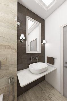 Luxurious bathroom ALMOND - visualization