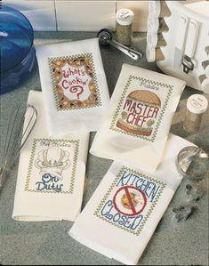 Kitchen Essentials Cross Stitch Patterns Sayings for the Kitchen