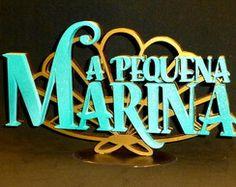 PEQUENA SEREIA - Logo personalizado