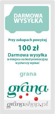 darmowa wysyłka od 100 zł
