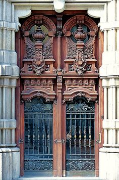 Doors ~ Barcelona, Spain