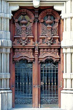 Doors ~ Barcelona, Spain