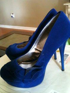 something blue - wedding shoes :) by malinda
