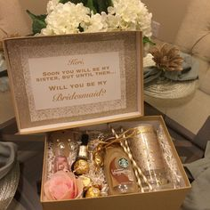 Future sister-in-law bridesmaid box