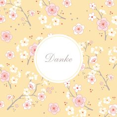 Danksagung Kirschblüte by Mr and Mrs Clynk für Rosemood.de #Danksagung #Blumen