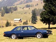 Fiat 130 Coupe by Paolo Martin