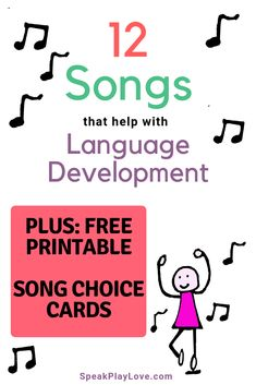 Songs for early learning. Great for preschool and toddlers to help with language… There are some songs found in the world as given. We are proud to share these tracks known as the best songs. The best songs in the… Continue Reading → Early Learning Activities, Music Activities, Speech Therapy Activities, Group Activities, Preschool Language Activities, Toddler Activities, Songs For Toddlers, Kids Songs, Toddler Language Development