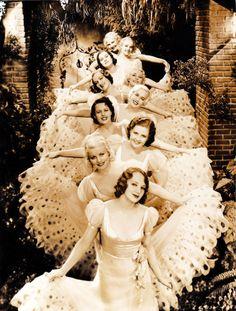chorus girls, 1932