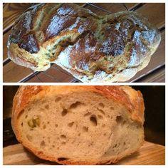 Netti Konyha: Olivás gyökérkenyér Bread, Food, Brot, Essen, Baking, Meals, Breads, Buns, Yemek