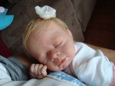 Beautiful Reborn Baby Doll Trista Weighted OOAK girl or boy you choose. $260.00, via Etsy.