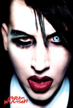 Marilyn MANSON! He taught me to go against what everyones doing! That I can be who I want to be! That I shouldnt care what people think of me!