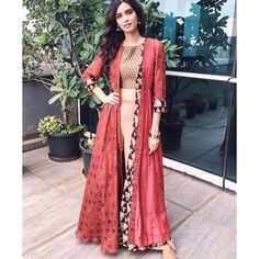 """334 Likes, 16 Comments - Label : Anushree (@label_anushree) on Instagram: """"One of our most loved look  from the season. #Throwback Diana Penty in our print on print cape…"""""""