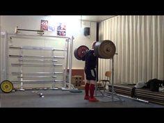 Brutal Back squat training 30.1.13 Milko Tokola