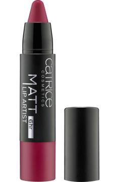 Die Perfektion matter Lippen: Catrice Matt Lip Artist 6hr Merl' Oh! 60 verleiht den Lippen mit einem einzigen Auftrag für bis zu 6 h intensive, matte Farbe...