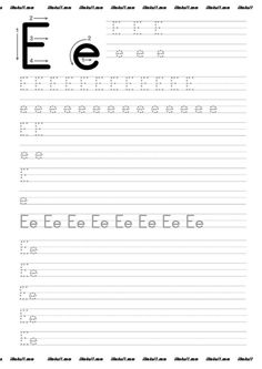 thumbnail of E Teaching Cursive Writing, Alphabet Writing, Preschool Writing, Preschool Learning Activities, Free Printable Alphabet Worksheets, Letter Worksheets For Preschool, Writing Practice Worksheets, Kindergarten Workbooks, Rodin