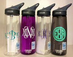 Monogram CamelBak water bottle #monogram