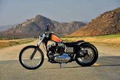The Bonnie and Clyde of Sportsters | Street Chopper