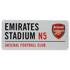 Arsenal football club emirates #stadium n5 official #street sign fc #metal ,  View more on the LINK: http://www.zeppy.io/product/gb/2/231742709378/