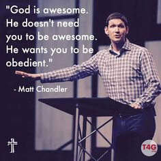 Matt Chandler (born June 20, 1974) is the lead pastor of teaching at The Village Church, a Southern Baptist church in the Dallas-Fort Worth Metroplex and the President of the Acts 29 Network. Chandler's first book, The Explicit Gospel, was released in 2012 and co-authored by Jared Wilson. In it he explains what the Gospel is and how it has been misunderstood.