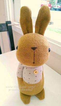 襪子娃娃340號點點T多米兔 (4)