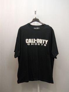 BIG & TALL SIZE 3XL Men's T-Shirt CALL of DUTY GHOSTS Short Sleeved Crew Neck   #CallofDuty #GraphicTee