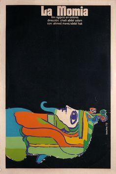 Vintage Cuban movie poster by Paulus Veltman, via Flickr
