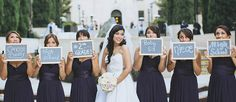 From getting ready pictures, to silly pictures, to the sentimental picture, there are so many must have wedding photos with your bridesmaids. Don't forget to include some into your wedding album.