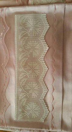 Diy Crafts - Women Vest Cone Pattern New Knitting Design Free Crochet Borders, Filet Crochet, Crochet Motif, Crochet Doilies, Crochet Hooks, Knit Crochet, Diy Crafts Crochet, Yarn Crafts, Crochet Patterns Amigurumi