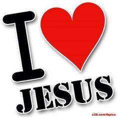I <3 Jesus