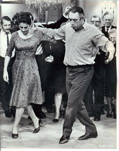 Irene Papas and Anthony Quinn. Irene Papas and Anthony Quinn. Films Cinema, Cinema Tv, Shall We Dance, Just Dance, Vintage Hollywood, Classic Hollywood, Irene Papas, Greek Dancing, Zorba The Greek