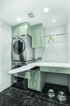 50 Beautiful and Functional Laundry Room Design Ideas Laundry room decor Small laundry room ideas Laundry room makeover Laundry room cabinets Laundry room shelves Laundry closet ideas Pedestals Stairs Shape Renters Boiler Laundry Room Remodel, Laundry Room Cabinets, Laundry Closet, Small Laundry Rooms, Laundry Room Organization, Laundry Room Design, Laundry In Bathroom, Laundry Drying, Basement Laundry
