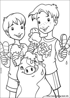 Holly Hobby Coloring Page