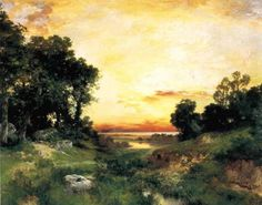 Thomas MORAN (1837-1926)   искусство   Постила