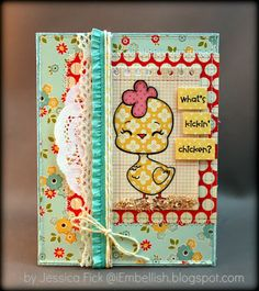 iEmbellish: Peachy Keen Stamps March Blog hop