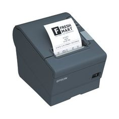 """Epson Corporation - Epson Tm-T88v Direct Thermal Printer - Monochrome - Desktop - Receipt Print - 3.15"""" Print Width - 11.81 In/S Mono - Usb - Parallel """"Product Category: Printers/Label/Receipt Printers"""". <p>The TM-T88V is the latest addition to Epson's industry leading TM-T88 POS printer series. Designed for use in food service and retail environments, the TM-T88V offers more speed, features and relia."""