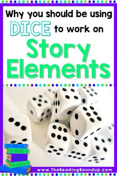 Dice Games are a fun and engaging way to change up your comprehension instruction. Find out how you can use this simple activity to practice story elements during literacy centers, guided reading groups, and independent reading. Lots of fun for students! Reading Games For Kids, Reading Buddies, Guided Reading Groups, Reading Resources, Reading Activities, Teaching Reading, Summarizing Activities, Articulation Activities, Kindergarten Reading