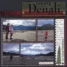 Hiking Denali National Park - Scrapbook.com