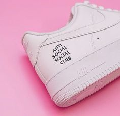 hot sale online 878d6 853a4 Sneakers women - Nike Air Force 1 Antisocialsocialclub by  antisocialsocialclub Anti Social Social Club, Nike