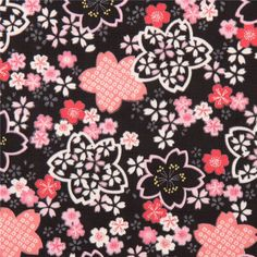 http://www.kawaiifabric.com/en/p7039-black-structured-cherry-blossom-shapes-dobby-fabric-from-Japan.html