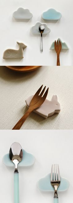 Not only does this delightful item prevent your chopsticks, spoons, forks and knives from contamination, it also makes a lovely decoration on your dining table!