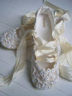 Pretty ballet shoes.