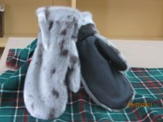 Love these seal skin gloves!