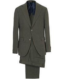Egel Linen Suit Green