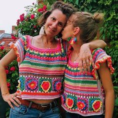 Crochet Buttons, Crochet Shirt, Crochet Jacket, Crochet Cardigan, Knit Crochet, Mode Crochet, Crochet Girls, Crochet Woman, Crochet Designs