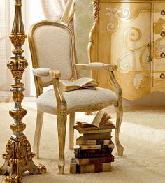 Le sedie classiche e di lusso in stile veneziano e fiorentino - Andrea Fanfani